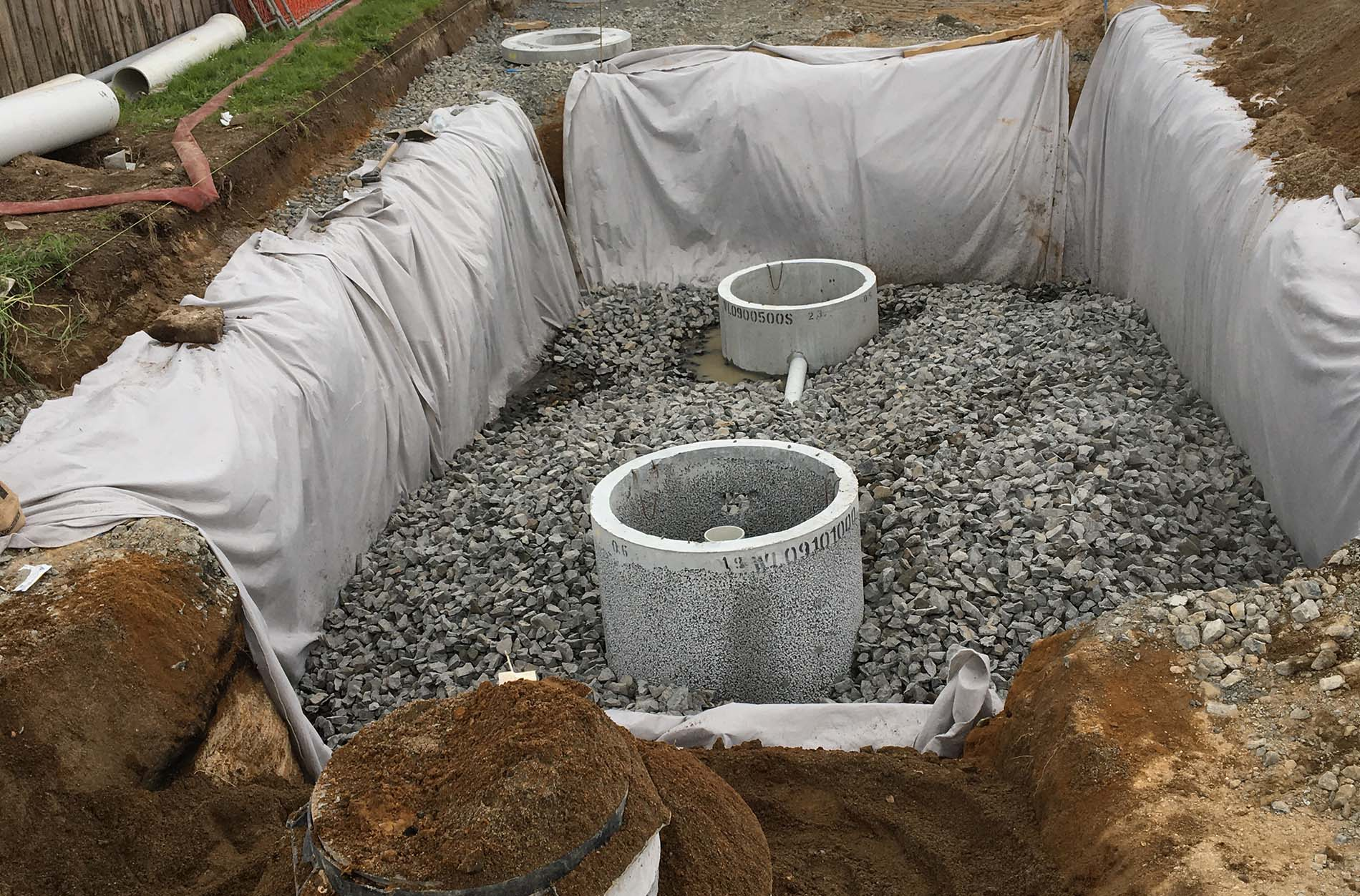 drainage and earthworks